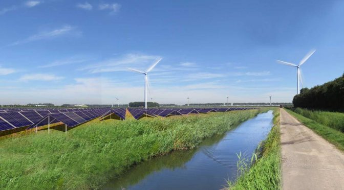 Vattenfall combines wind energy, solar and batteries in new hybrid energy park