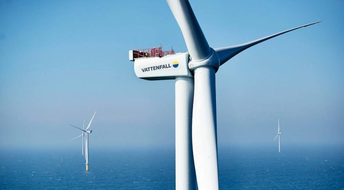 Vattenfall selects operation and maintenance hub for Horns Rev 3 wind energy