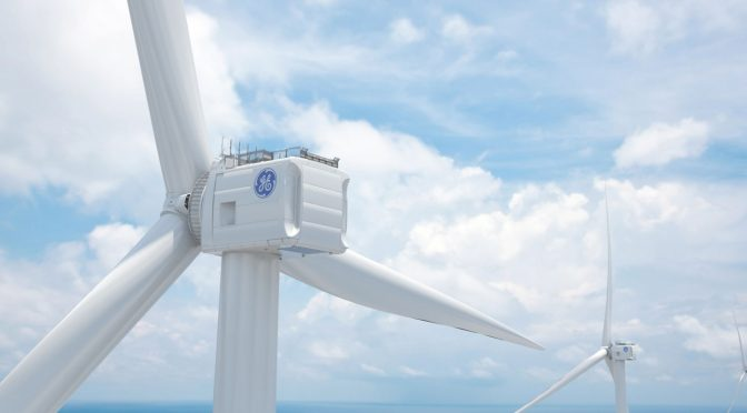 GE Renewable Energy's Haliade-X wind turbines to be used by Dogger Bank Wind Energy