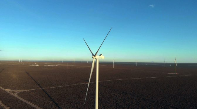 Wind energy in Argentina: the largest wind farm begins to operate