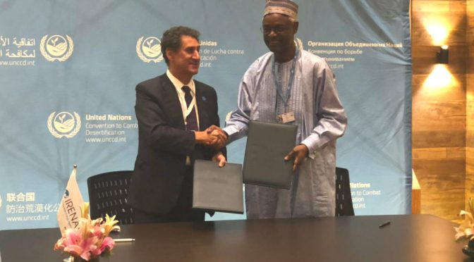 IRENA and UN agree to jointly combat desertification through renewables