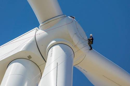 Nordex supplies wind turbines for wind power in the US