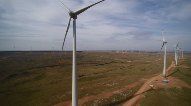 Wind energy in Uruguay: Enercon wind turbines for a wind farm