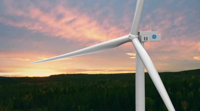 GE Renewable Energy to Deliver Cypress wind Turbines for 175 MW Onshore Wind Farm in Sweden