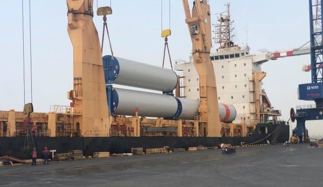 Wind power in Yucatán: wind turbines arrive for Progreso Wind Farm
