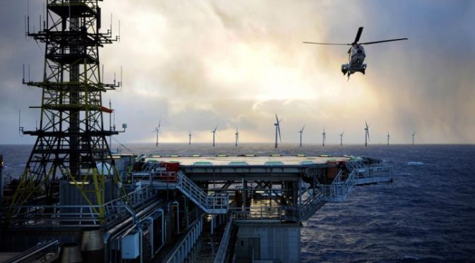 Equinor powers ahead with floating wind power plant