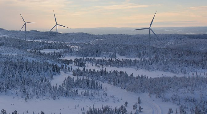 Wind farm Kråktorpet established and handed over to Aquila Capital