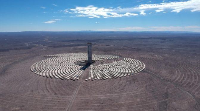 Cerro Dominador Concentrated Solar Power developer plans larger plants in Chile