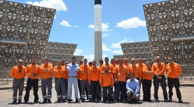Refractaris leads the construction of solar shields for concentrated solar power