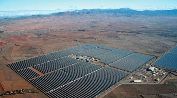 The Concentrated Solar Power triggers its production in Spain