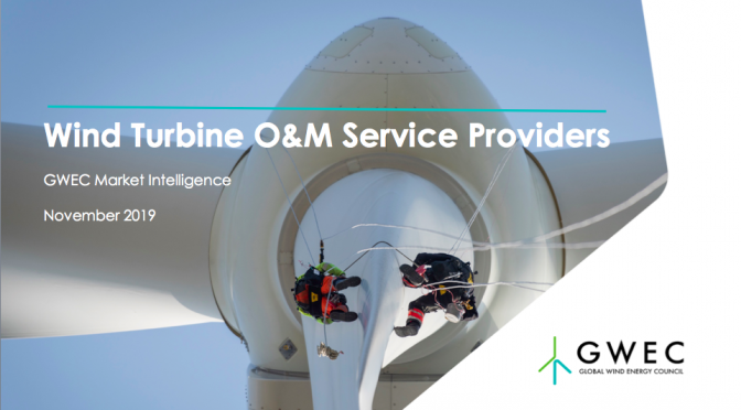 GWEC launches Global O&M services report in wind power