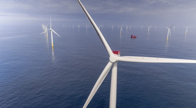 Wind energy in France, Fécamp offshore wind farm commences construction