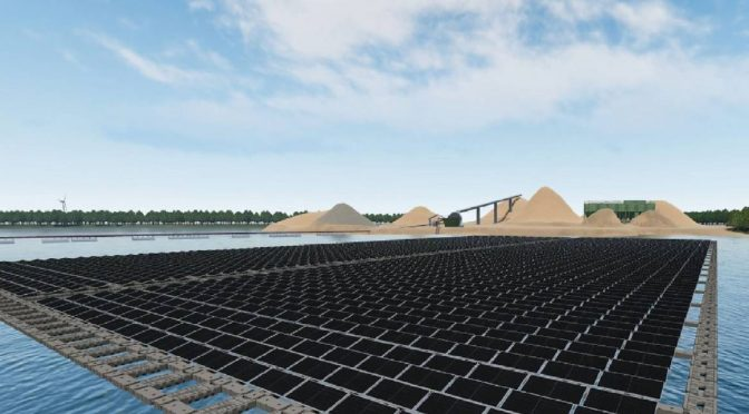 Vattenfall builds its first floating solar farm