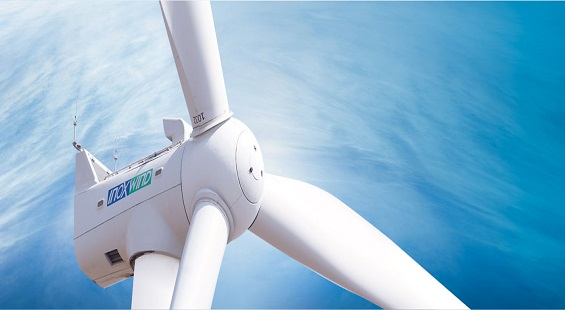 Wind energy in India, Inox Wind wind turbines for wind farm in Gujarat