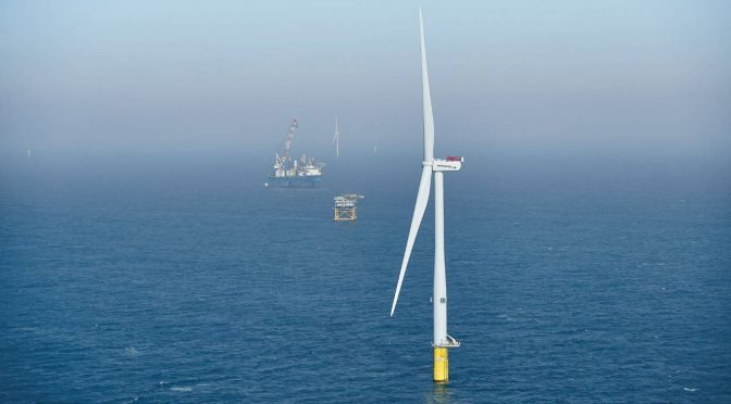 Full industrialisation of offshore wind power requires collaboration & communication between ports