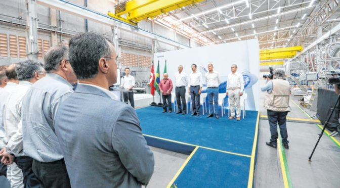 Wind energy Vestas opens factory with 624 wind turbines already ordered in Ceará