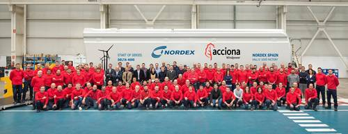 Nordex now manufacturing Delta4000 wind turbines in La Vall d'Uixó plant in Spain