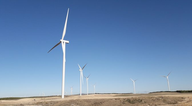 Wind energy in Malaga, new Enel wind farm