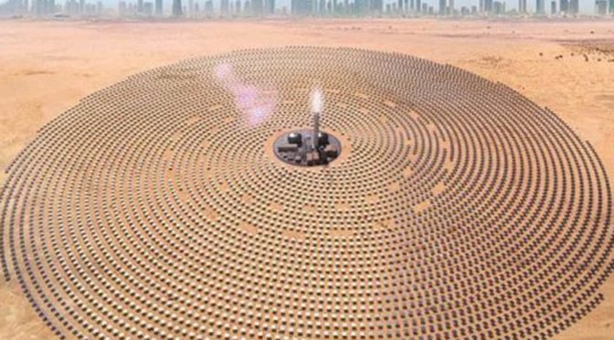Refractaris seeks in Africa and Asia to expand its international sales of shields for Concentrated Solar Power