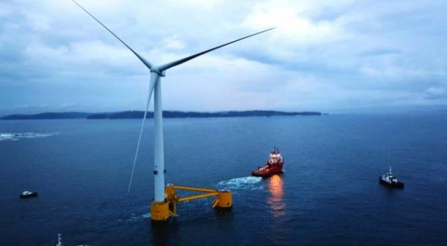 The second platform of the WindFloat Atlantic wind energy project starts from Ferrol to Viana do Castelo