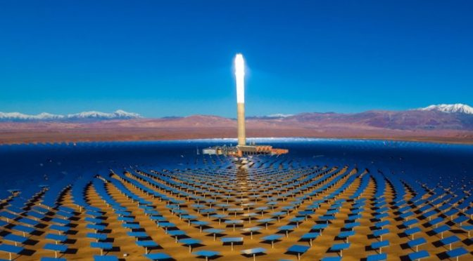 EBRD grants €45 million loan for Noor Midelt I concentrated solar power project