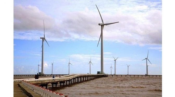 Vietnam continues to add more wind power