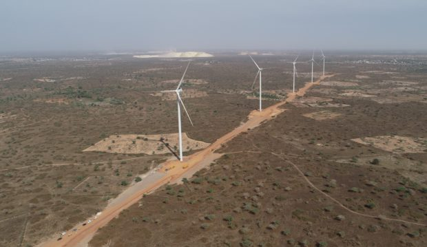 Wind energy flows into Senegal's grid