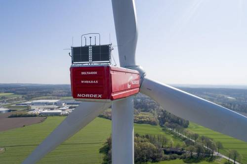 Wind energy in Finland, Nordex' wind turbines for 188 MW wind farm