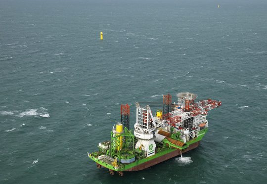 Ørsted's first offshore wind farm in the Netherlands