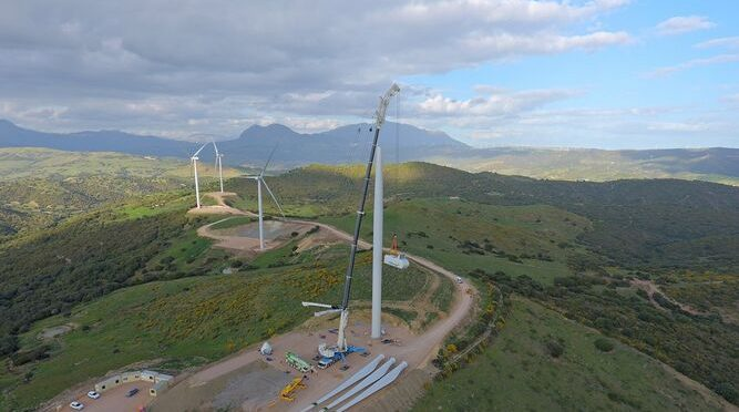 Wind power in Andalusia, Capital Energy starts Loma de los Pinos wind farm