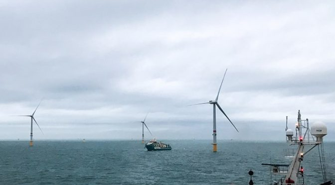 219 MW Northwester 2 offshore wind farm has begun delivering wind power to the Belgian grid