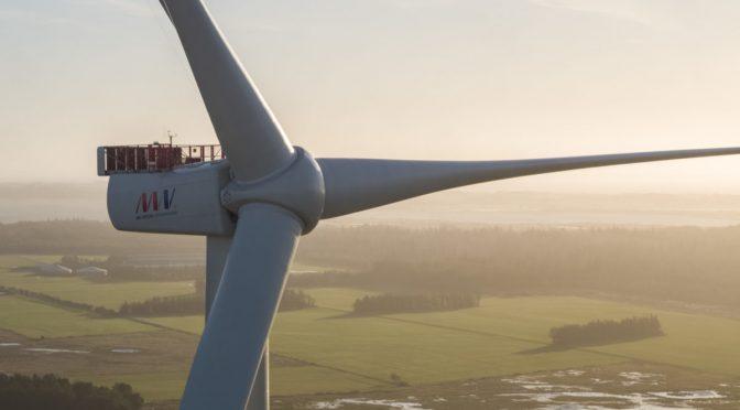 MHI Vestas Installs Flagship V174-9.5 MW wind turbines