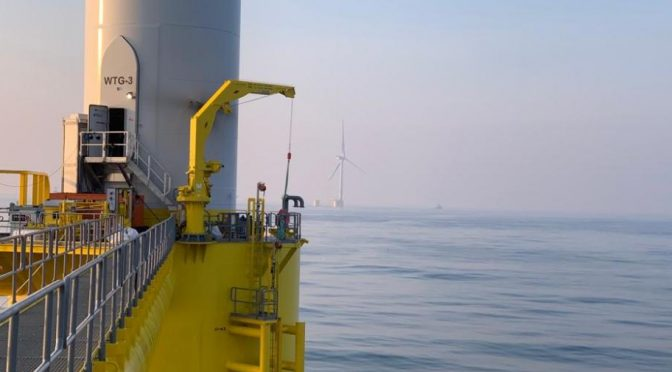 WindFloat Atlantic project starts supplying wind energy in Portugal
