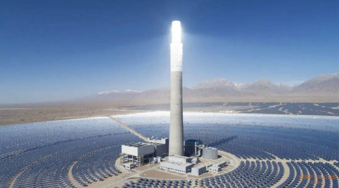 China Supcon Delingha 50 MW Concentrated Solar Power plant achieved record high performance in Feb. 2020