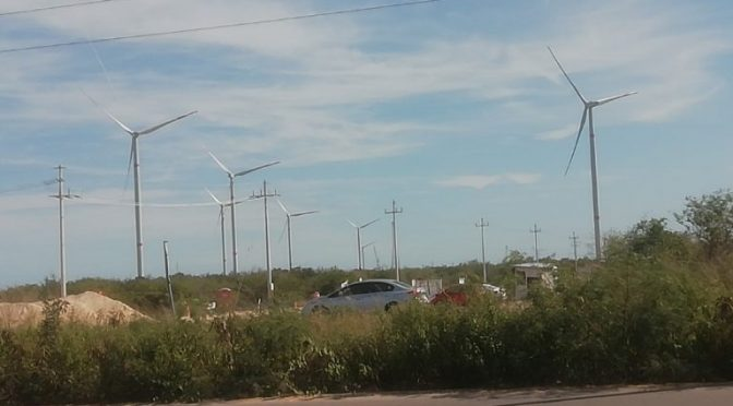 Wind power in Yucatan, Progreso wind farm installation is progressing well