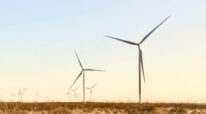 Los Teros wind farm began today to provide wind energy in Argentina