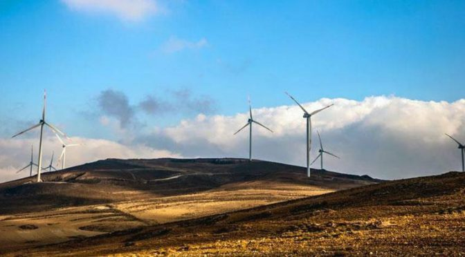 Jordan among leading countries in MENA region for wind power production