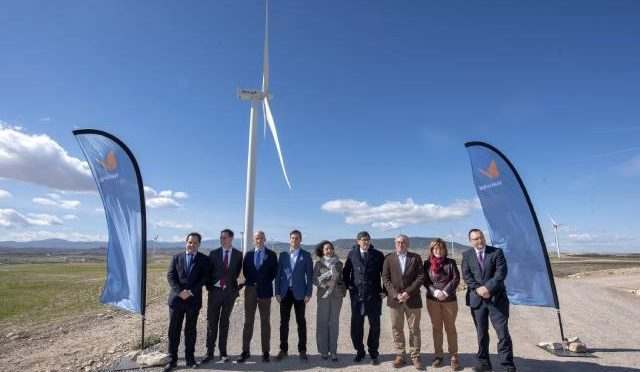 Wind energy in Aragon, Naturgy inaugurates the Fréscano wind farm