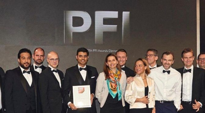 Saudi- Dumat Al-Jandal Wind Farm Project Wins PFI Award