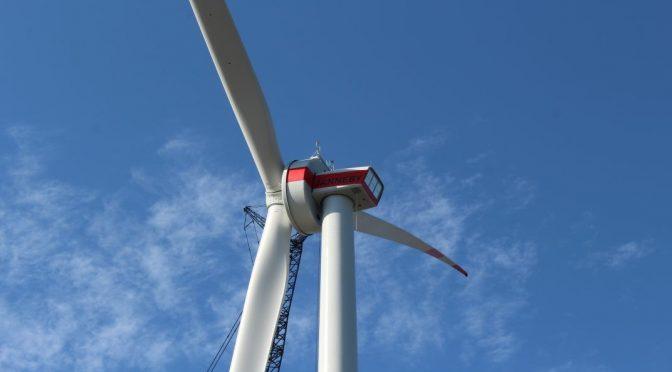 ENERCON installs E-138 EP3 E2 wind turbine prototype