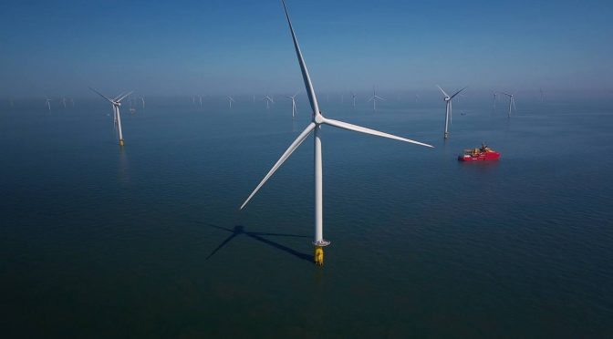 Total Enters into a Giant Offshore Wind Farm Project in Scottish North Sea