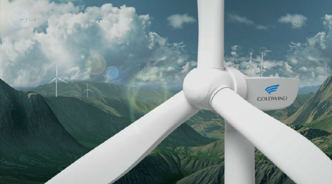 Greek wind energy, Goldwind's wind turbines for wind farm