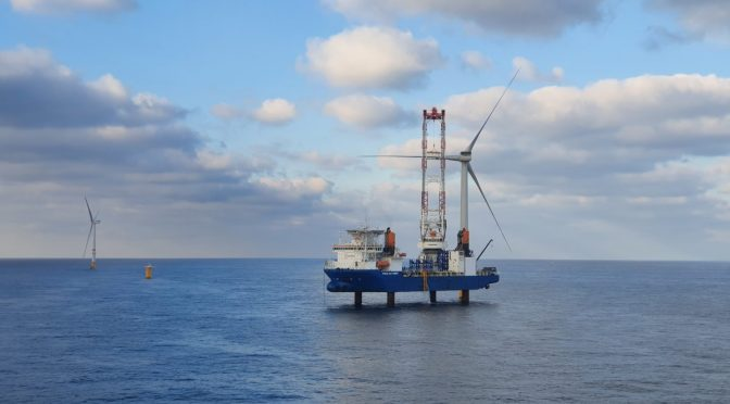 Northwester 2 completes wind turbine installation of first 9.5MW platform