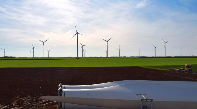 El Salvador to build wind power plant with wind turbines from China