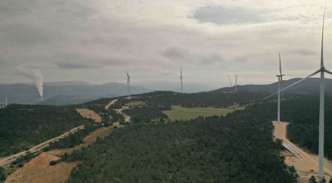 Elecnor starts up the first wind power farm in the Valencian Community since 2012