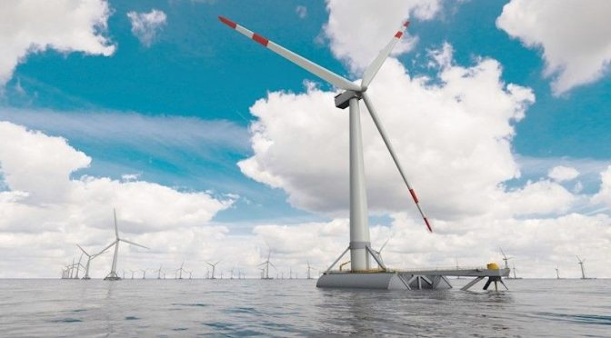 CTC works to reduce the cost of floating wind turbines by 15%