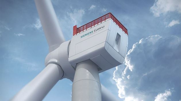 Siemens Gamesa SG 14-222 DD offshore wind turbines planned for 300 MW Hai Long 2 offshore wind energy project in Taiwan