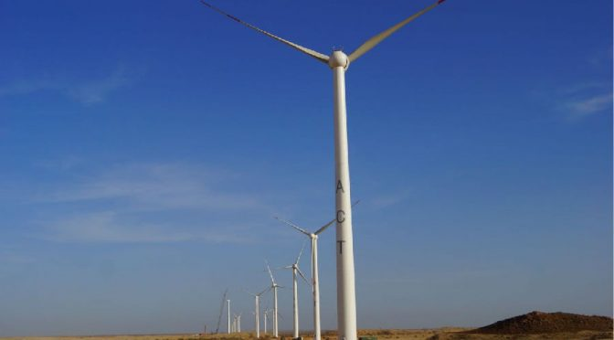 Wind energy in Pakistan, Goldwind's wind turbines for wind farms