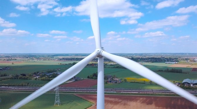 Wind energy, solar and hydraulic production reached 40% of the total in Spain