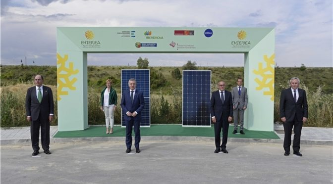 Iberdrola, the Mondragon Group, Álava Regional Council and the EVE join forces to build the largest photovoltaic plant in the Basque Country